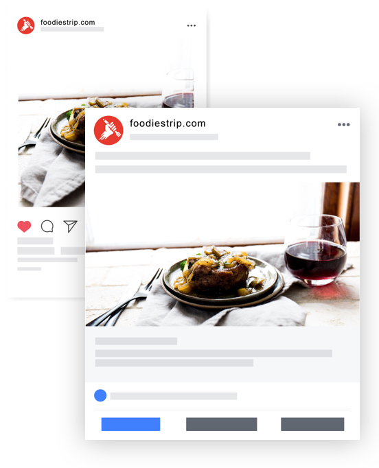 Gestione social network | foodiestrip.com