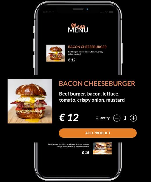 Simplified online orders