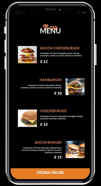 Il tuo menu con il migliore aspetto possibile