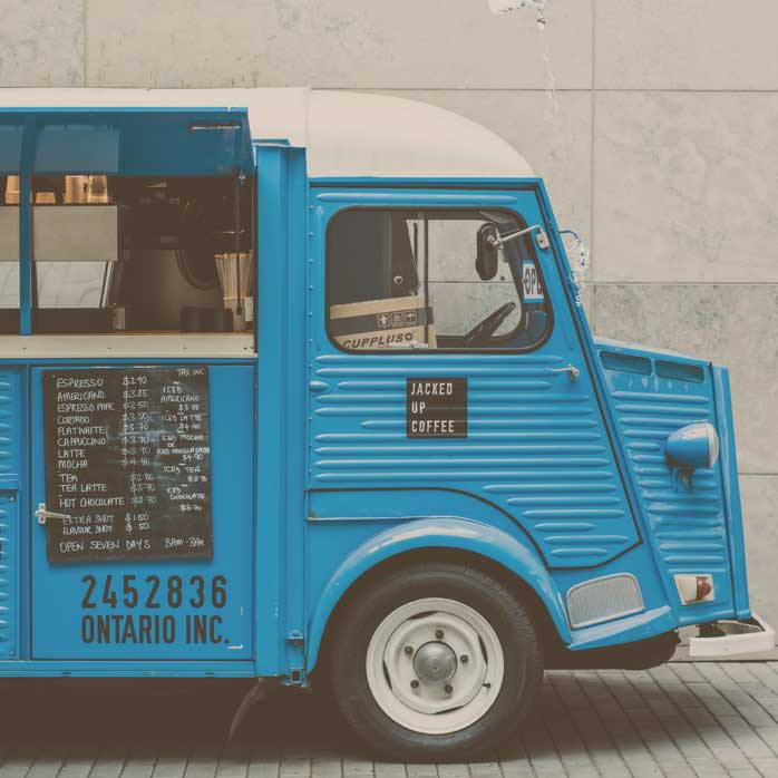 Food Truck Diner Suksan West Brompton