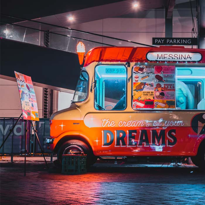 Food Truck Diner Nipa Paddington