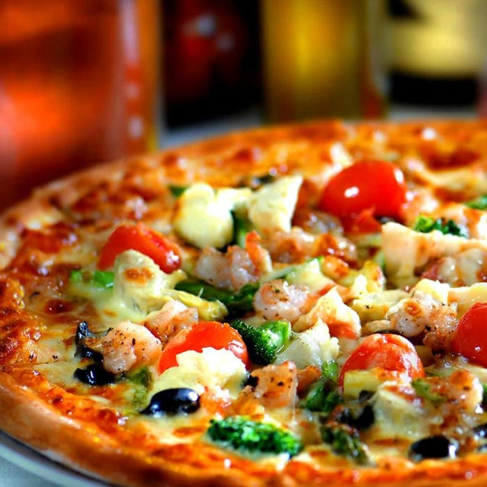 Pizza place Happy Hour & After-dinner Wine Bar Diner S.P.Q.R Parione