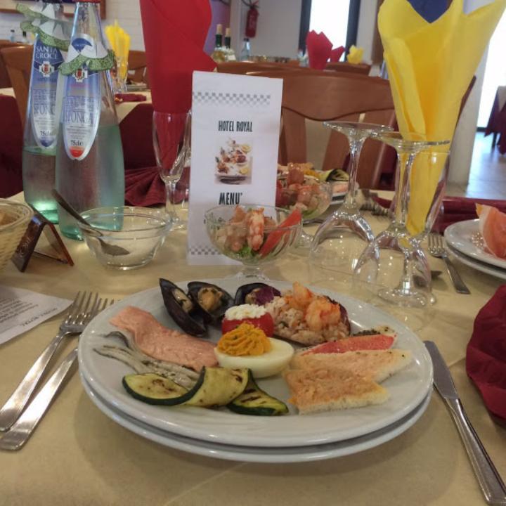 Antipasto di pesce Hotel Royal, Porto d'Ascoli (5)