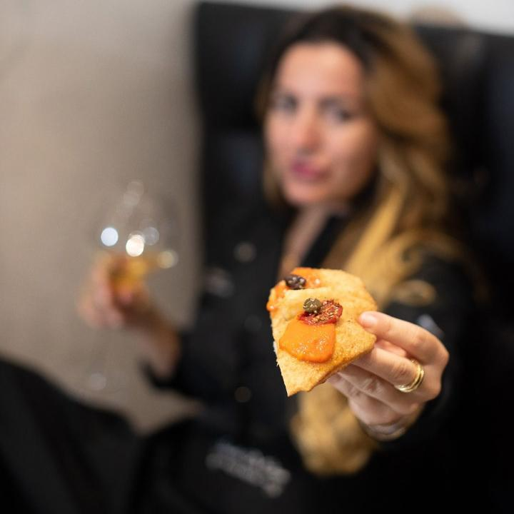 Isabella De Cham Pizza Fritta, Napoli (4)