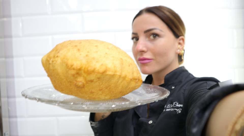 Isabella De Cham Pizza Fritta, Napoli (5)
