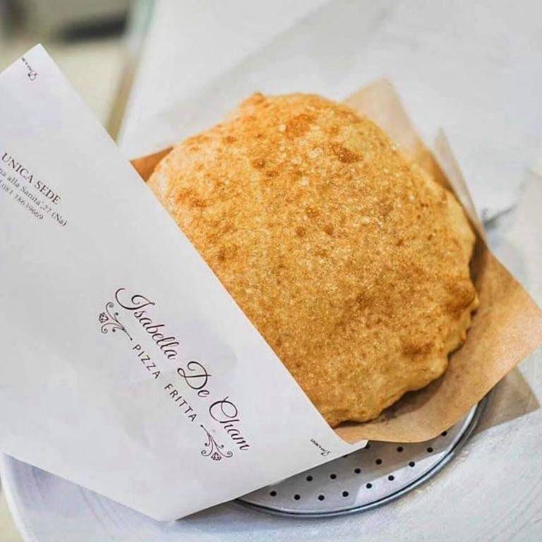 Street Food Isabella de Cham - Pizza Fritta Take Away Pignasecca Napoli
