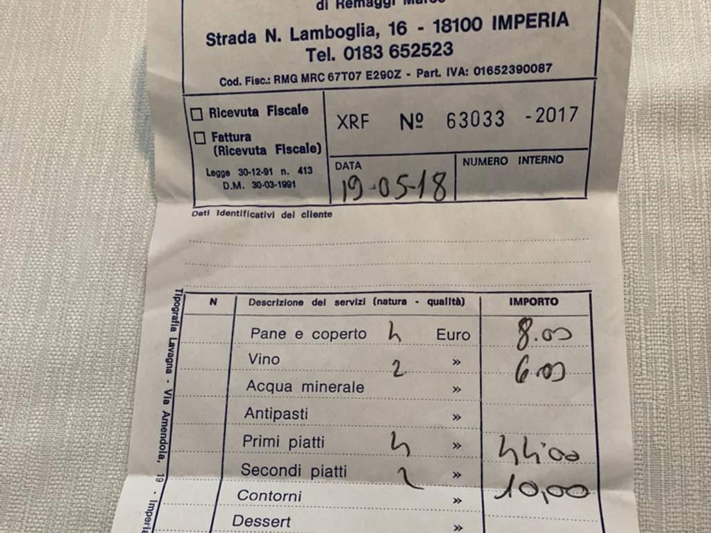 Ristorante Ristorante Lucio A Casetta Porto Maurizio