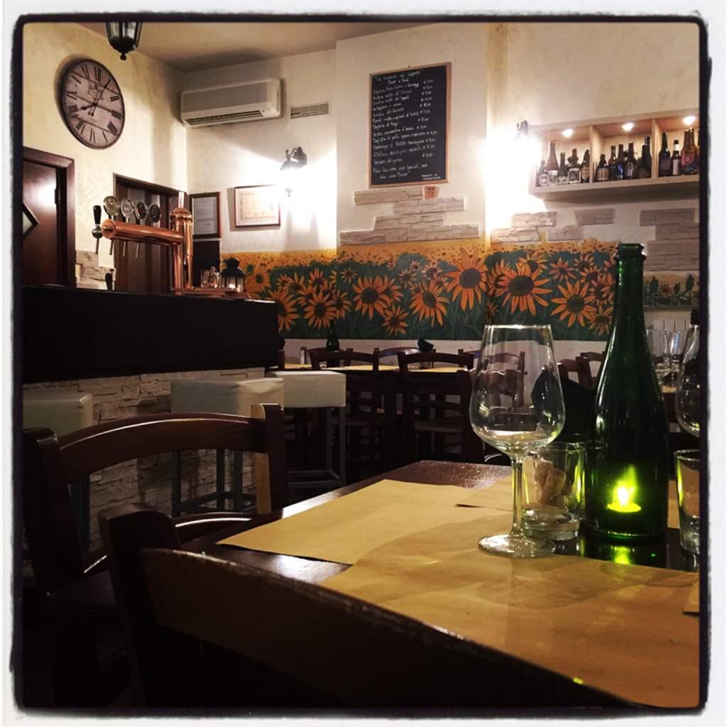 Ristorante Osteria Wine Bar Bistrot Birreria Aperitivo e Afterdinner La Locanda del Luppolo Porto Recanati