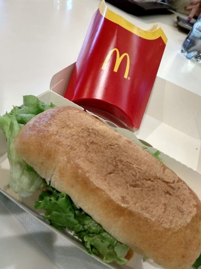 Fast Food Diner Mc Donald's Stazione Termini Castro Pretorio