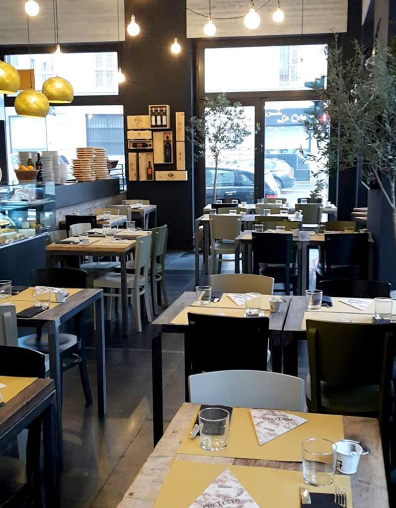 Restaurant Grocery shop PreTesto Milan
