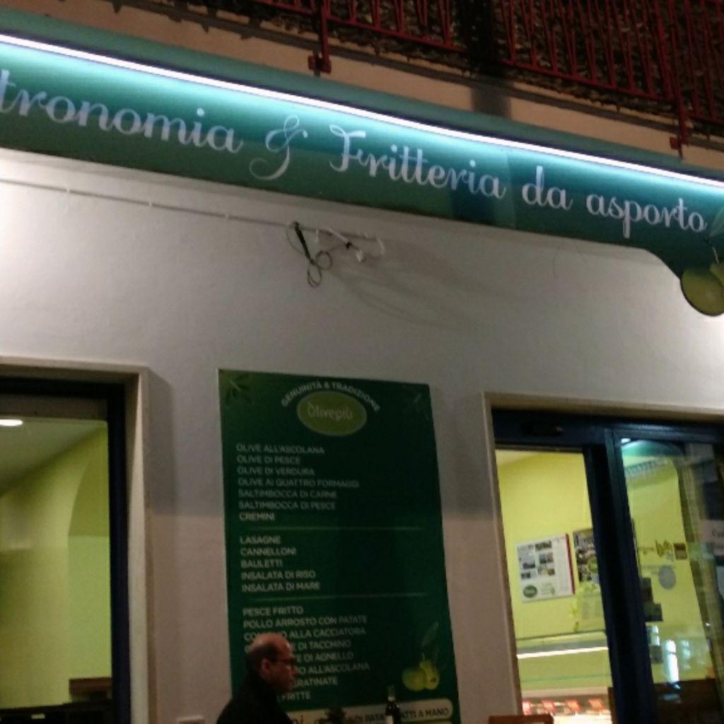 Street Food Pausa pranzo Olive Piu Beach Porto d'Ascoli