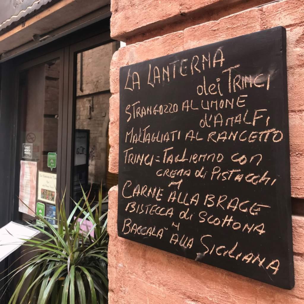 Restaurant La Lanterna Dei Trinci Foligno