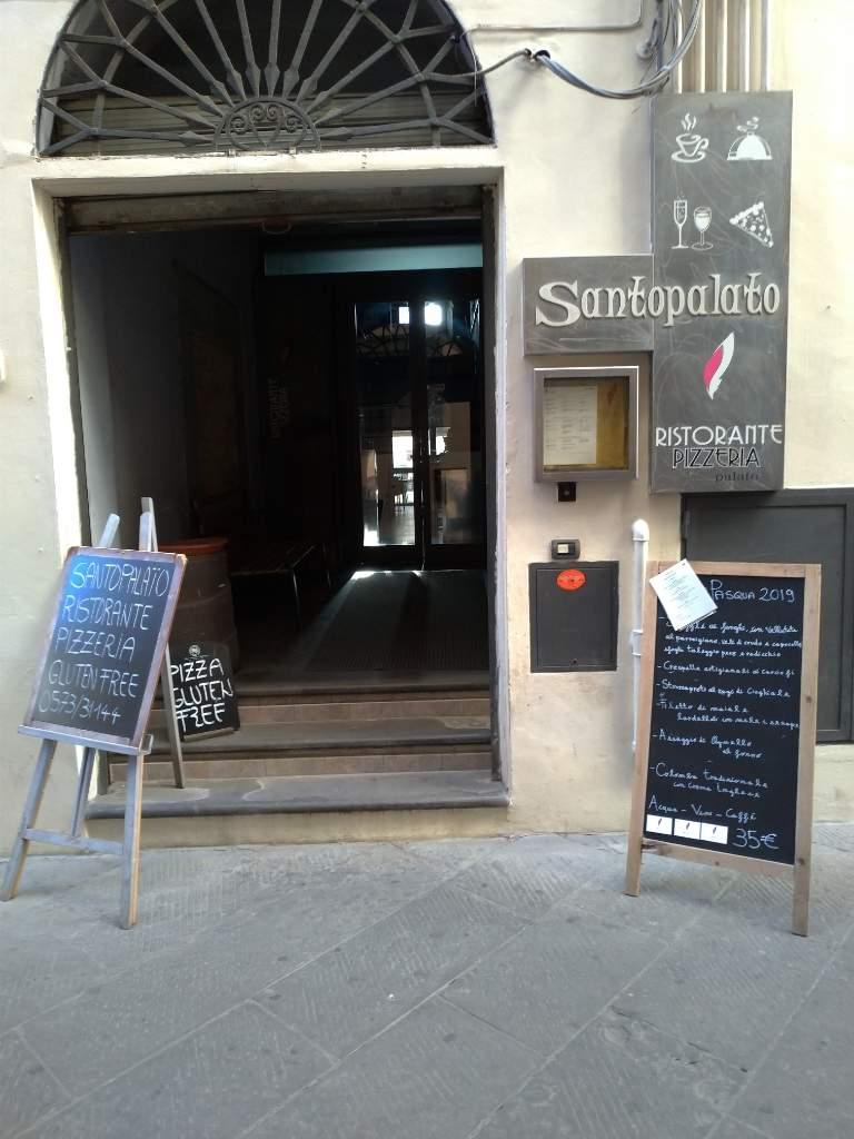 Restaurant Pizza place Diner Santopalato Pistoia