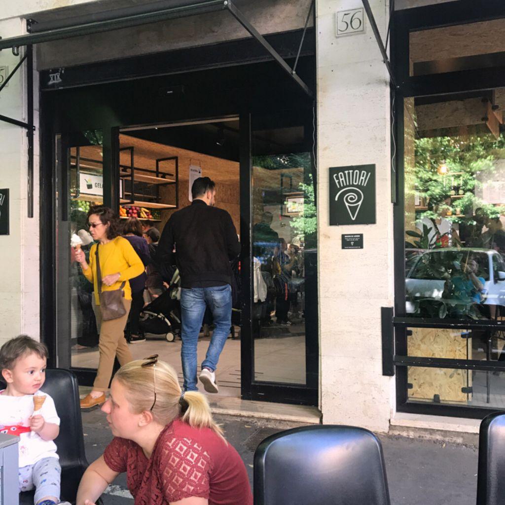Gelateria Coffee Bar Dessert e Pasticceria Pausa pranzo FATTORI Prenestino