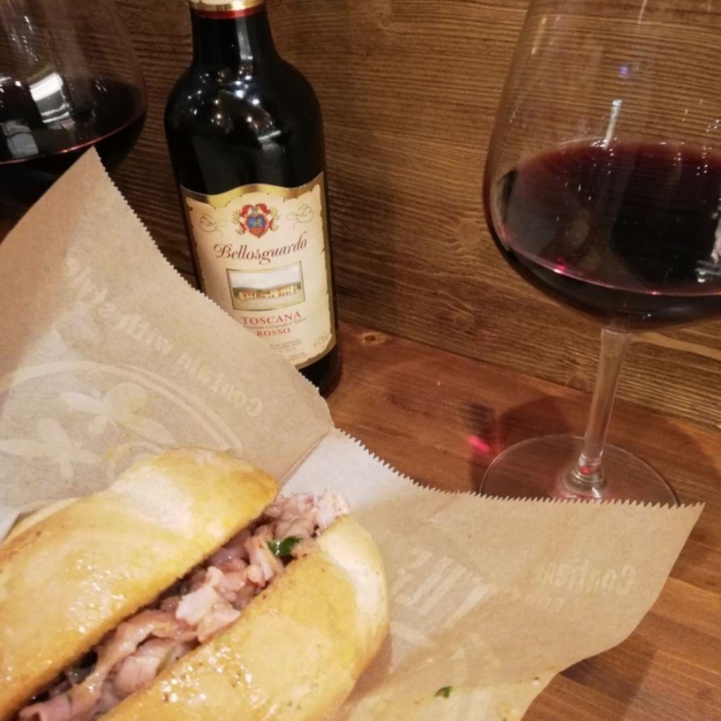 Sandwich Shop La Finocchiona Bologna