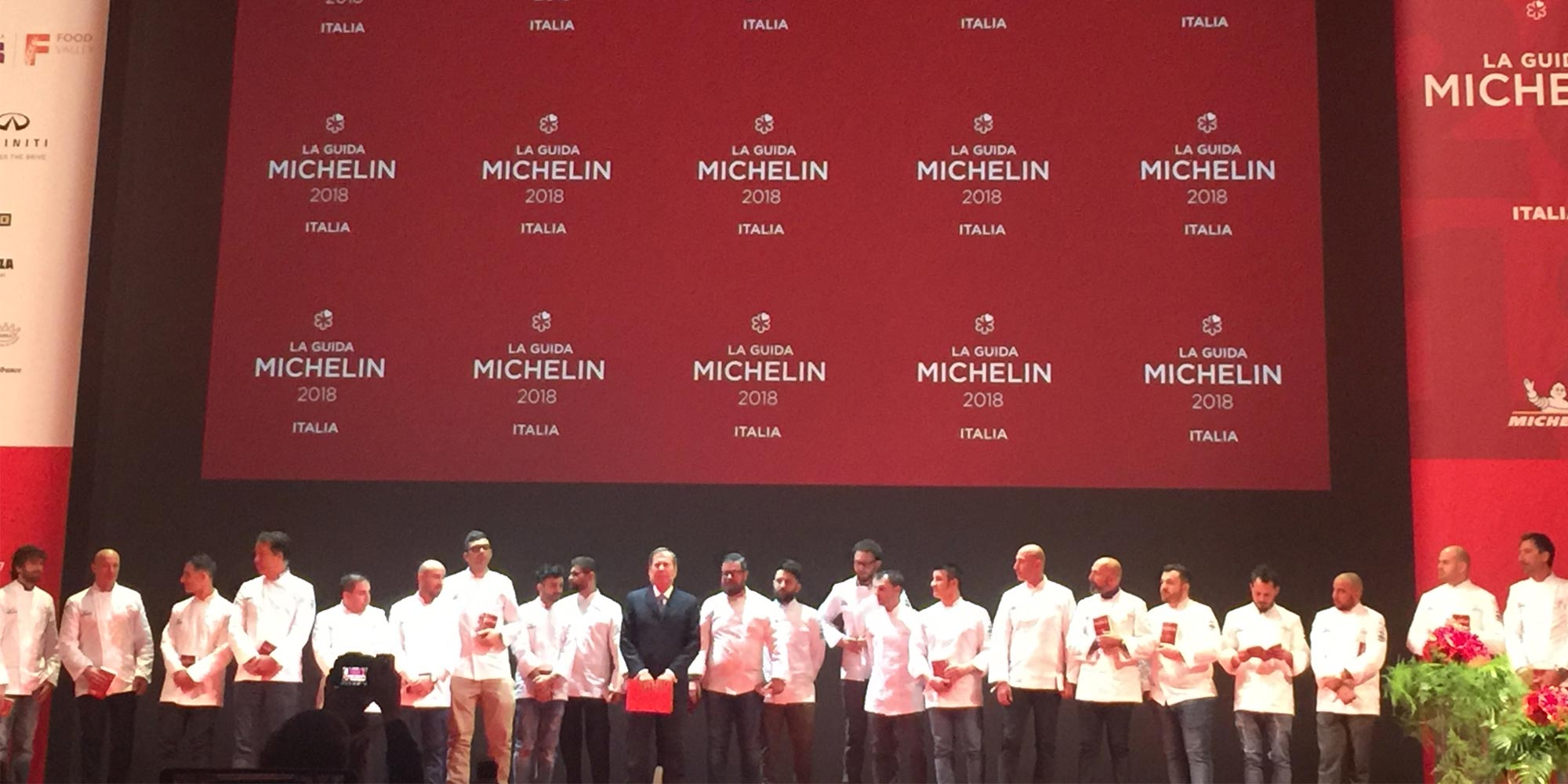 2018 MICHELIN GUIDE, CRACCO HAS BEEN PENALIZED