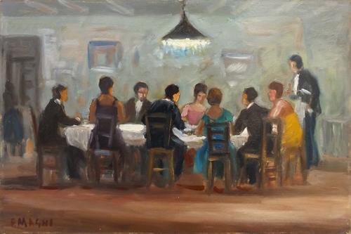Fausto Magni - Cena al ristorante