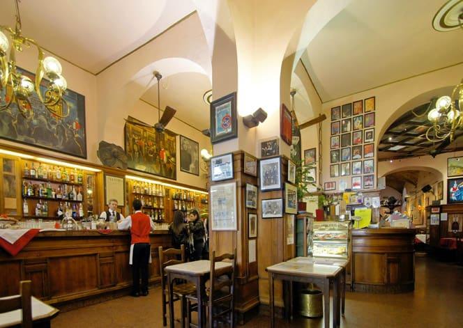 Gran Caffè Giubbe Rosse, Firenze