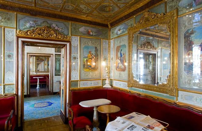 Caffè letterari - Florean Venezia