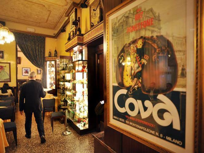 Caffè letterari - Pasticceria Cova Milano