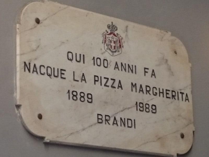 L'INVENZIONE DELLA PIZZA MARGHERITA E LA PIZZERIA BRANDI