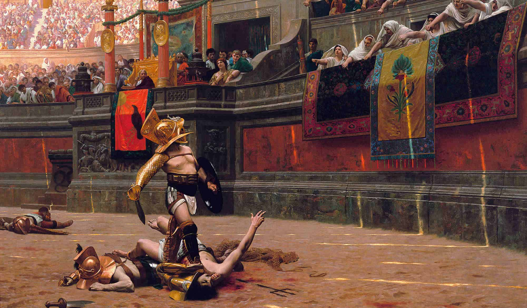 , I GLADIATORI: CHI ERANO E COME MANGIAVANO, Foodiestrip.blog