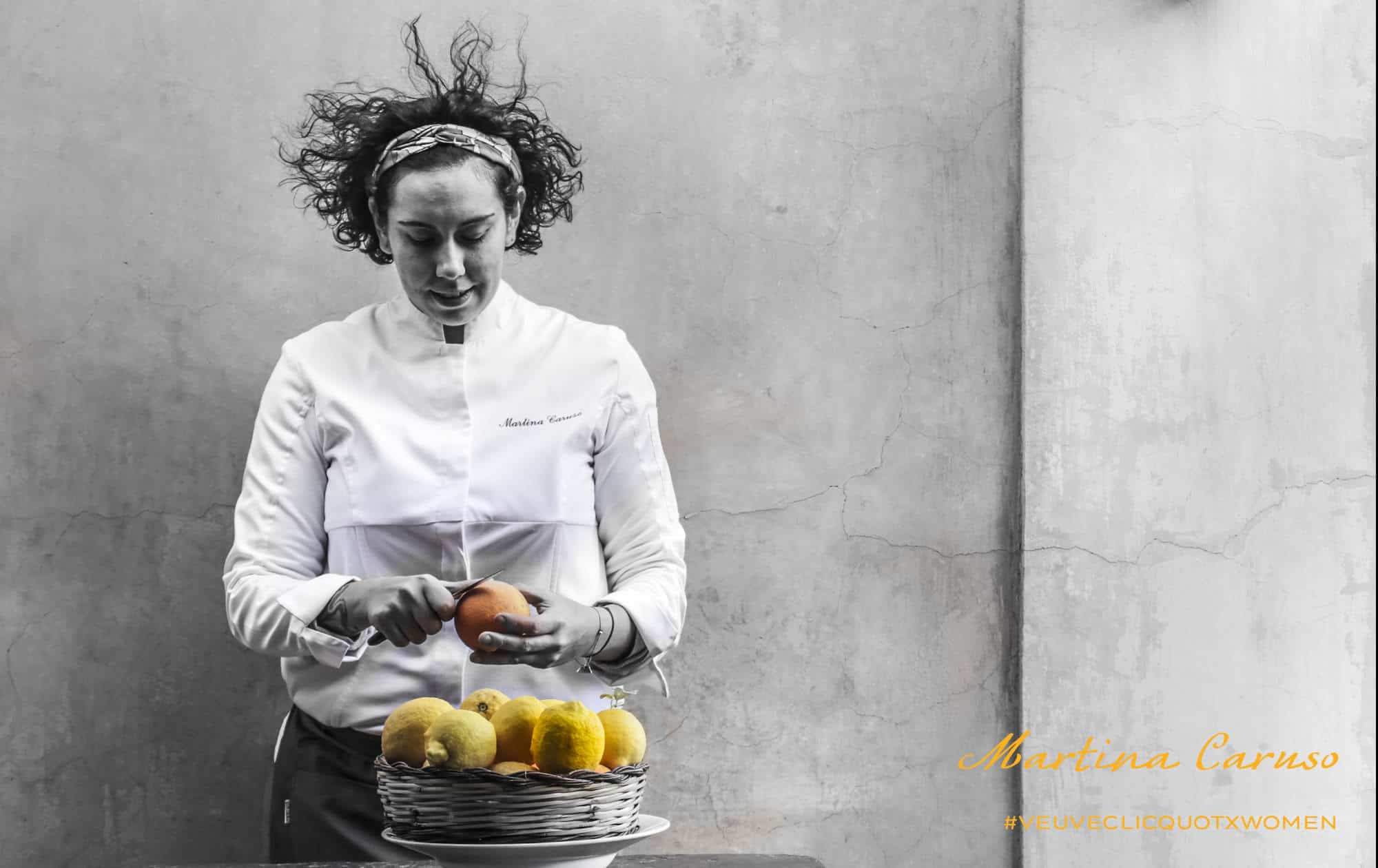 MARTINA CARUSO VINCE IL PREMIO MICHELIN CHEF DONNA 2019