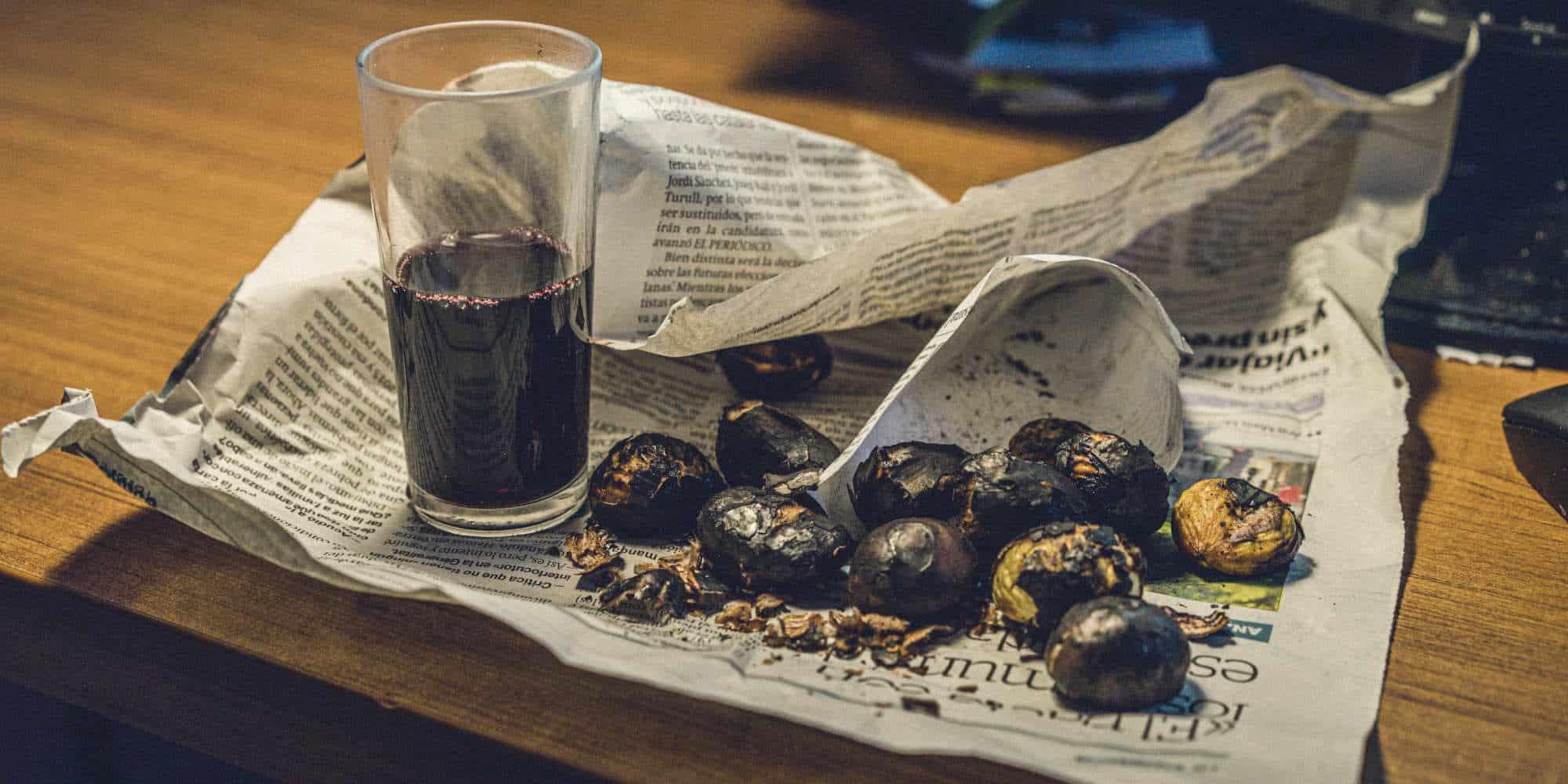 , CASTAGNE E MARRONI, DIFFERENZE, BENEFICI E VALORI NUTRIZIONALI, Foodiestrip.blog